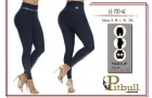 LEGGINS PUSH UP PITBULL REF LE-720-AZ