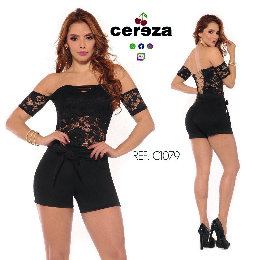 ENTERIZO CEREZA  REF C1045