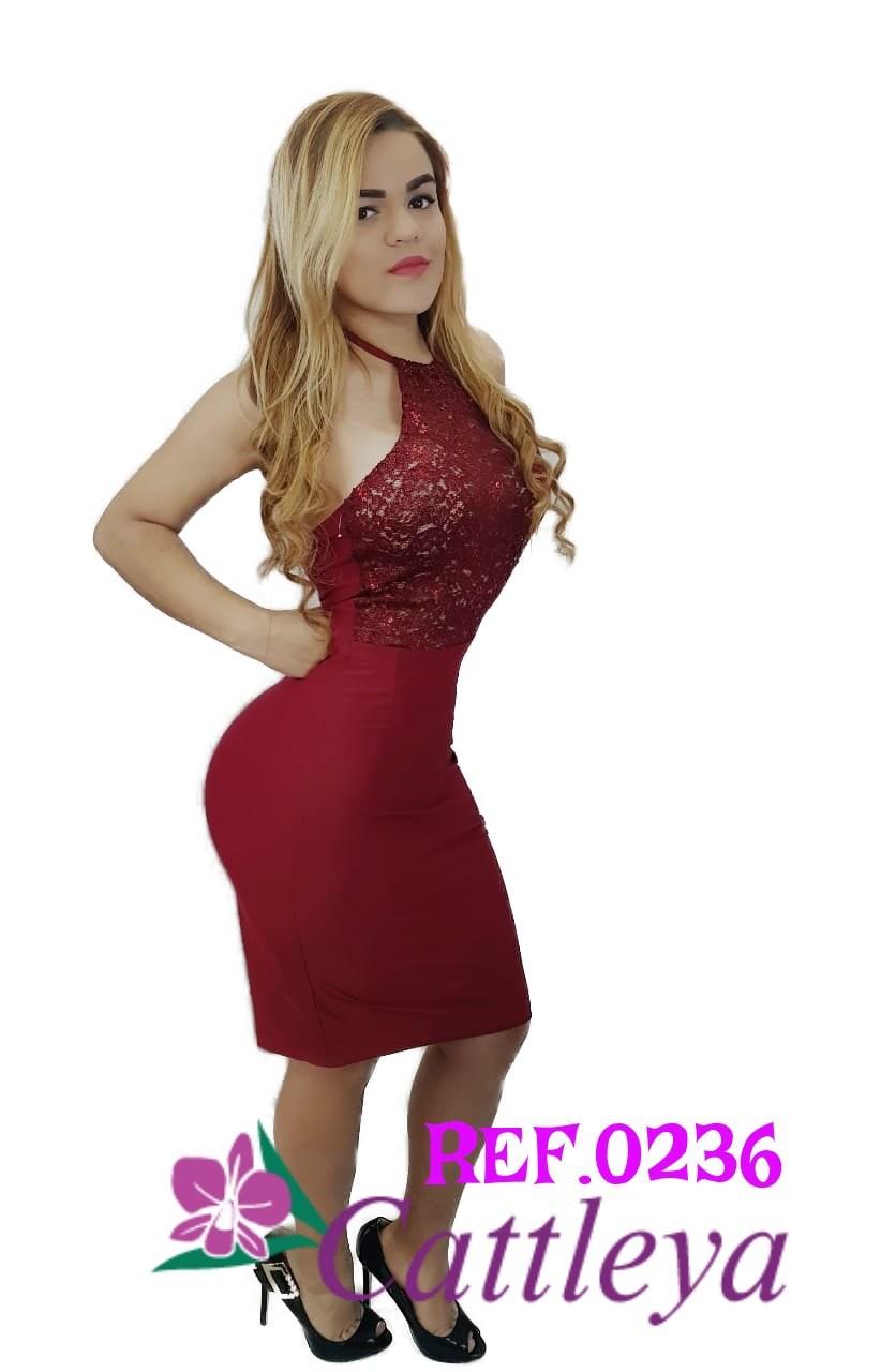 VESTIDO CATTLEYA MODA REF 0236