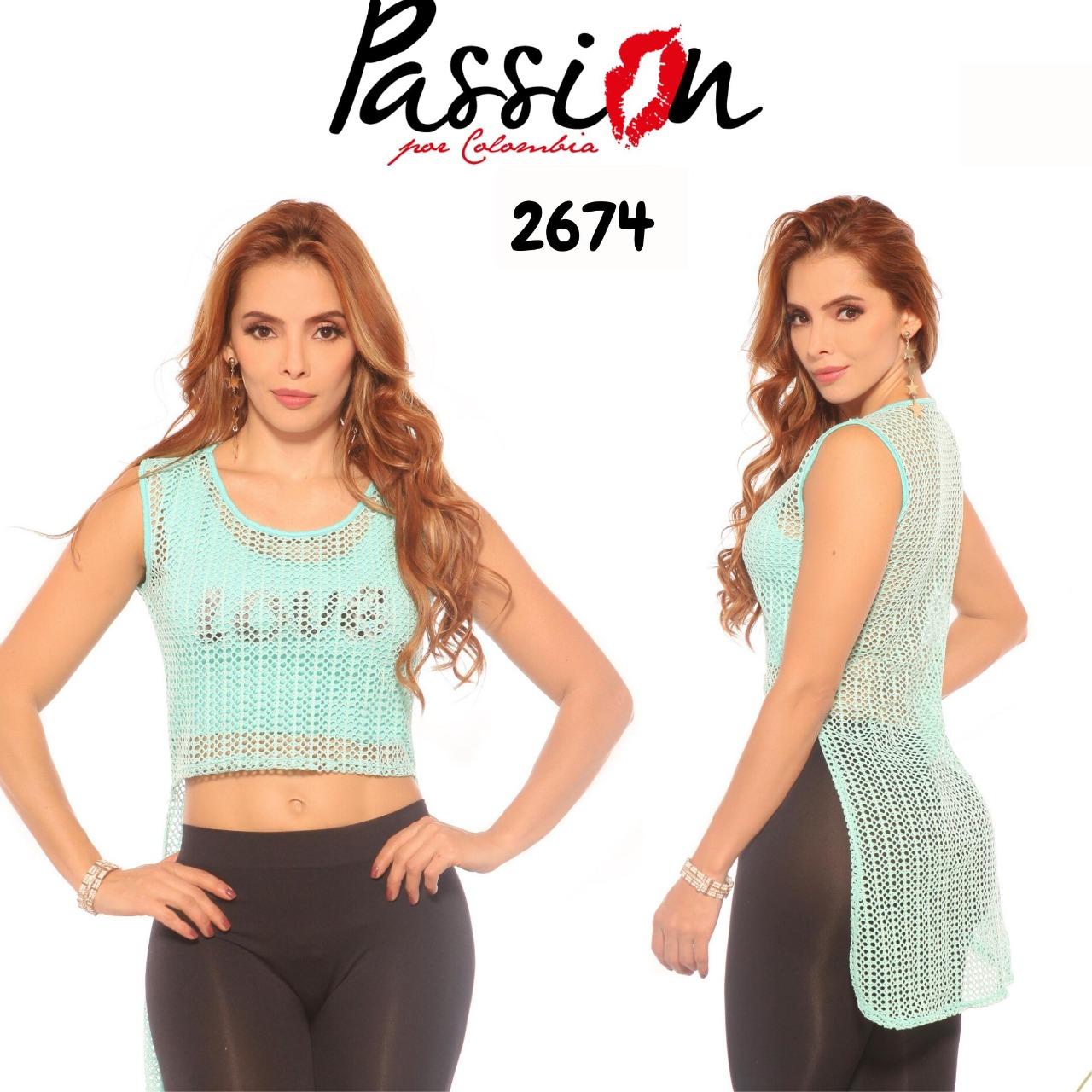 BLUSA  PASSION REF 2674