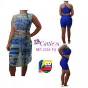 CONJUNTO CATLEYA  MODA REF  2526 -TQ