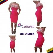 CONJUNTO CATTLEYA MODA REF 4506A
