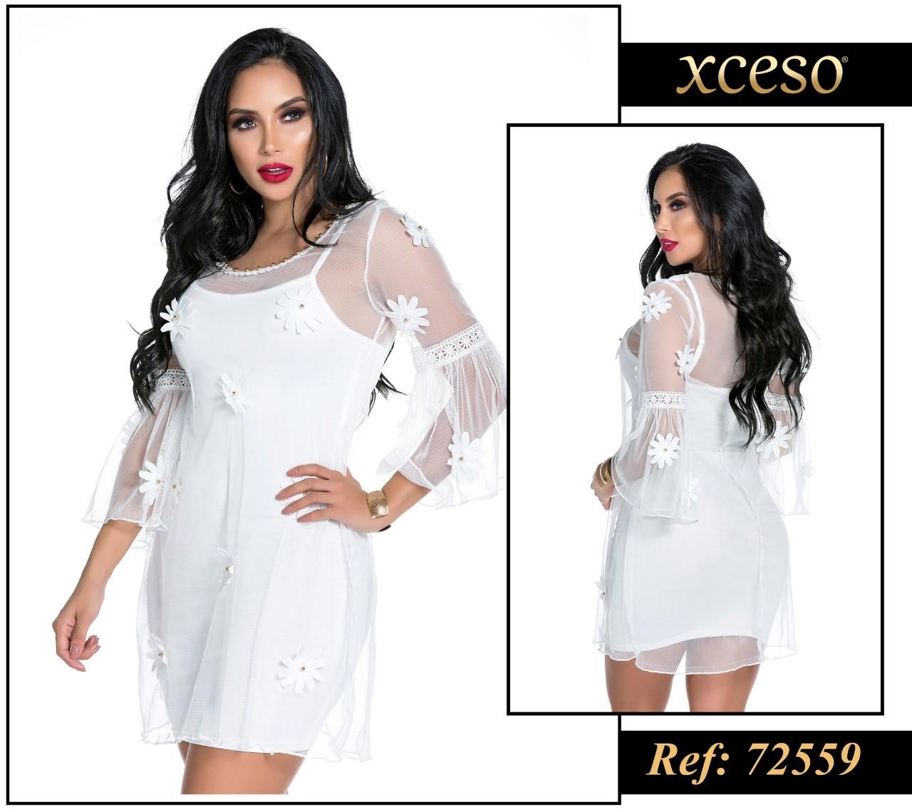 VESTIDO EXCESO REF J2337