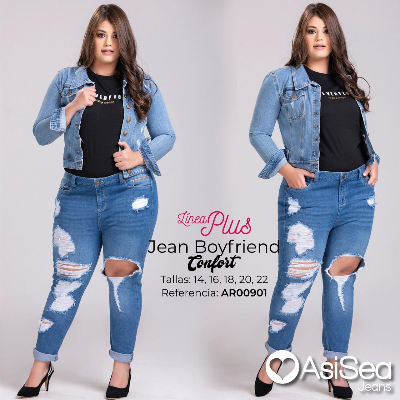 JEANS BOYFRIEND ASISEA REF  AR00901