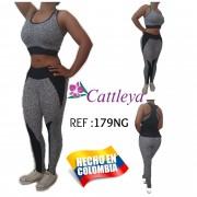 CONJUNTO DEPORTIVO CATTLEYA MODA REF 00179-NG