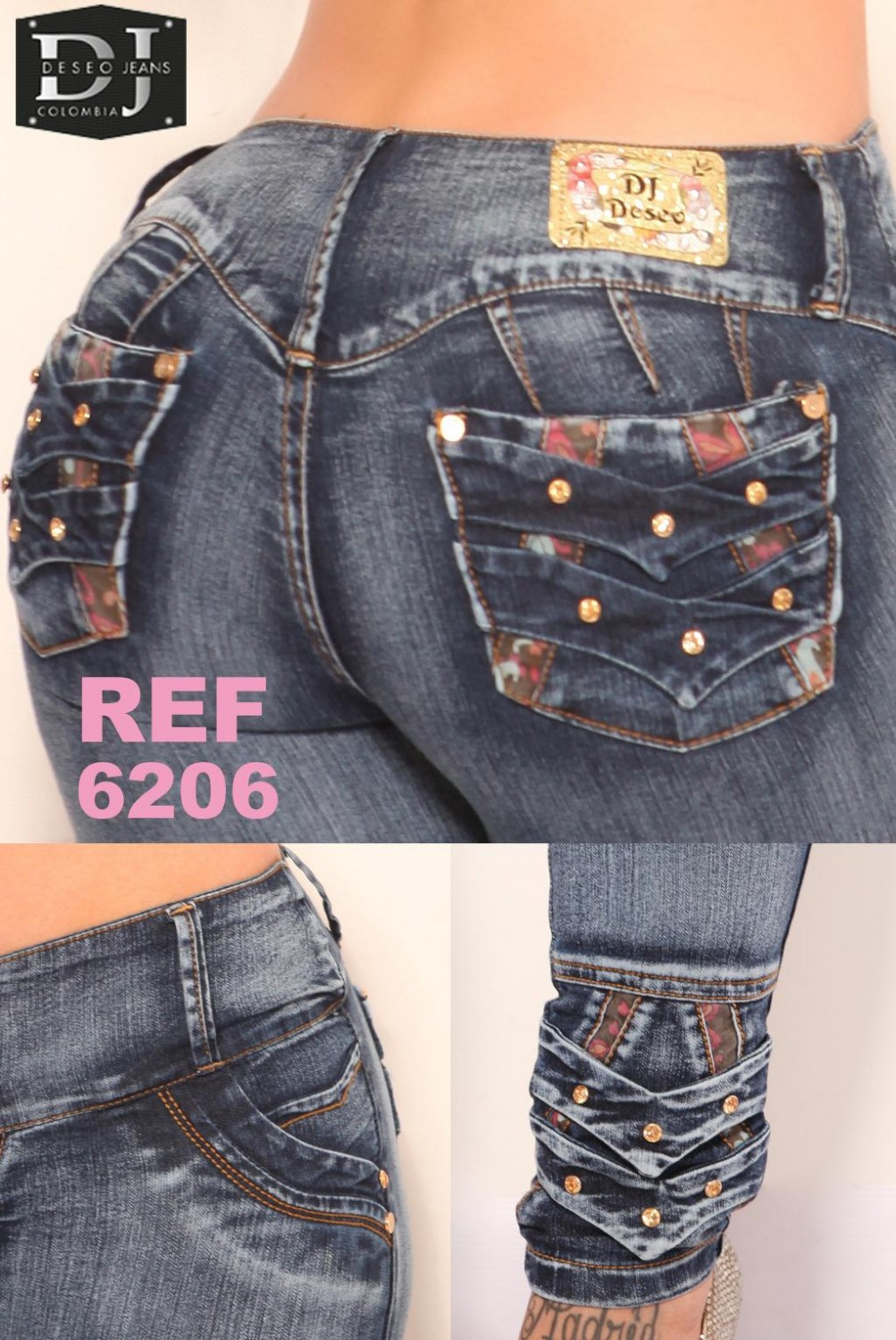 JEANS DESEO REF 6206