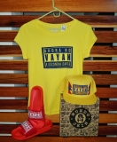 CAMISETA AMARILLA REF JUNIOR JEIN