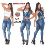 CONJUNTO SECRET LOVE JEANS REF  20325