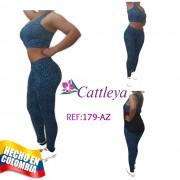 CONJUNTO DEPORTIVO CATTLEYA MODA REF 00179-AZ