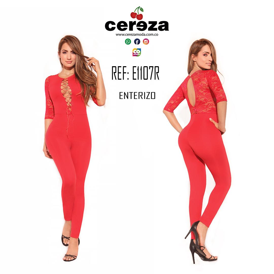 ENTERIZO CEREZA  REF E1107