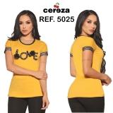 BLUSA CEREZA  REF 27018