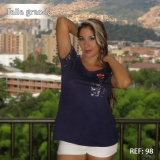 BLUSA SECRET BOUTIQUE REF 98
