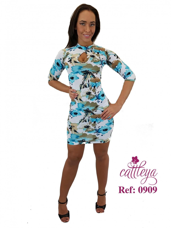 VESTIDO CATTLEYA GOLD REF 0909