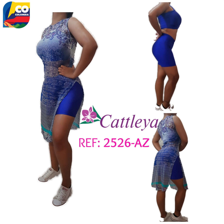 CONJUNTO CATLEYA  MODA REF  2526 -AZ