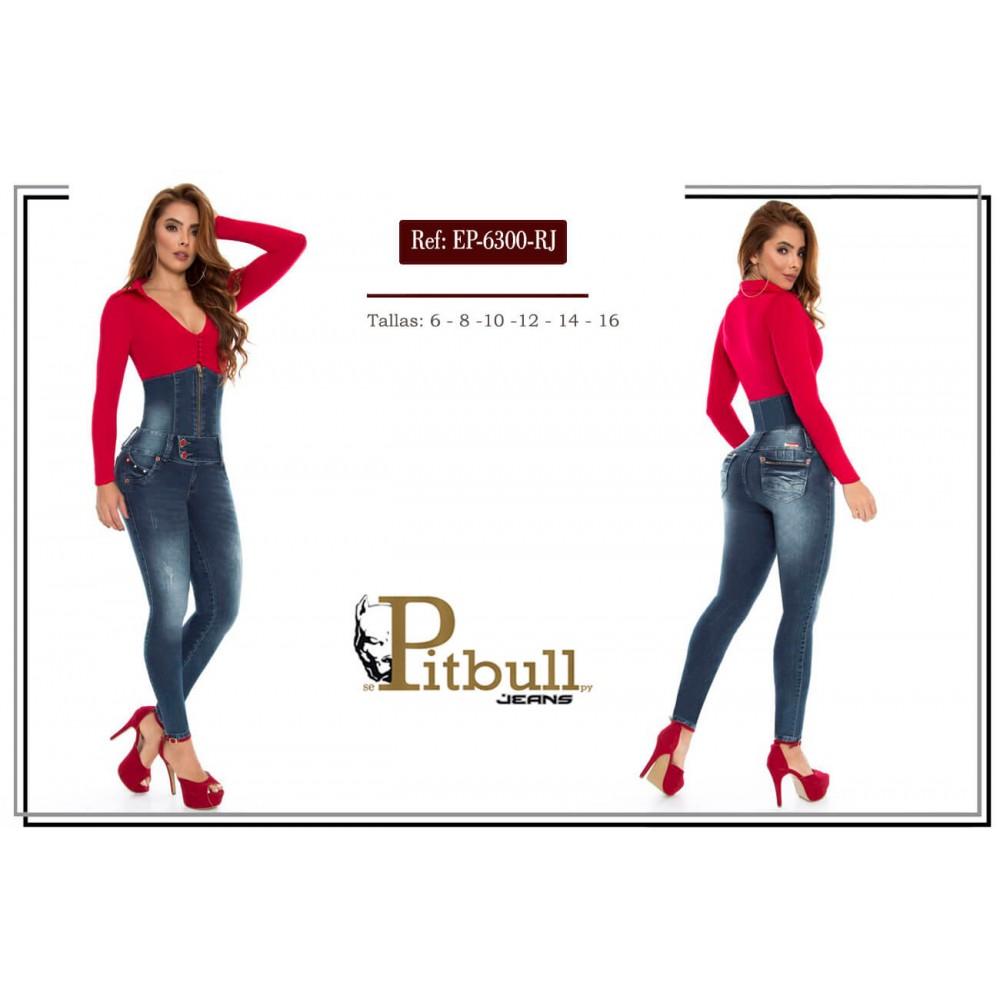 ENTERIZO PITBULL REF EP-6300 ROJO
